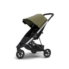 Carrinho-Thule-Spring-Aluminium-Olive-11300304-ThuleStore1